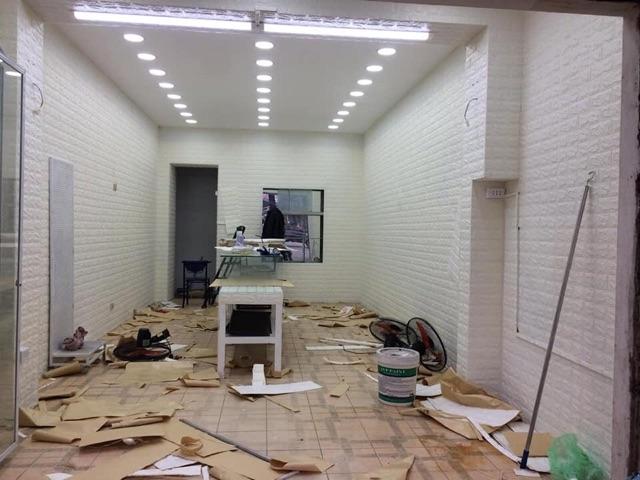 Xốp dán tường 3D Bao Đẹp Dày Siêu dính kích thước 70-77cm