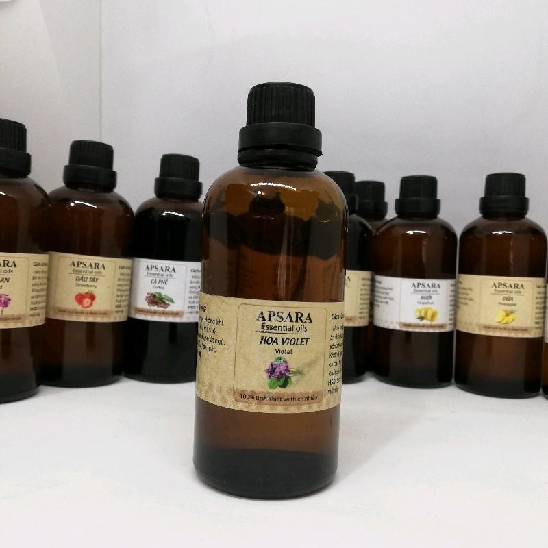 [50ml] Tinh dầu thiên nhiên nguyên chất SAVATI có kiểm định lọ 50ml 20 mùi có thể làm quà biếu