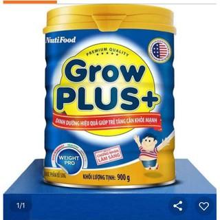 Sữa Grow Plus+ (xanh) 900g NutiFood MẪU MỚi date MỚI thumbnail
