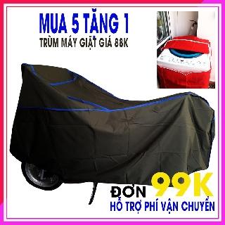 Bạt phủ xe máy , chống thấm, chống mưa, chất liệu vải dù, CAM KẾT HOÀN TIỀN 200% NẾU THẤM NƯỚC).