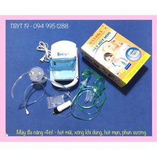 (4in1) Máy đa năng Bayoka - máy hút mũi, xông khí dung, hút mụn, phun sương thumbnail
