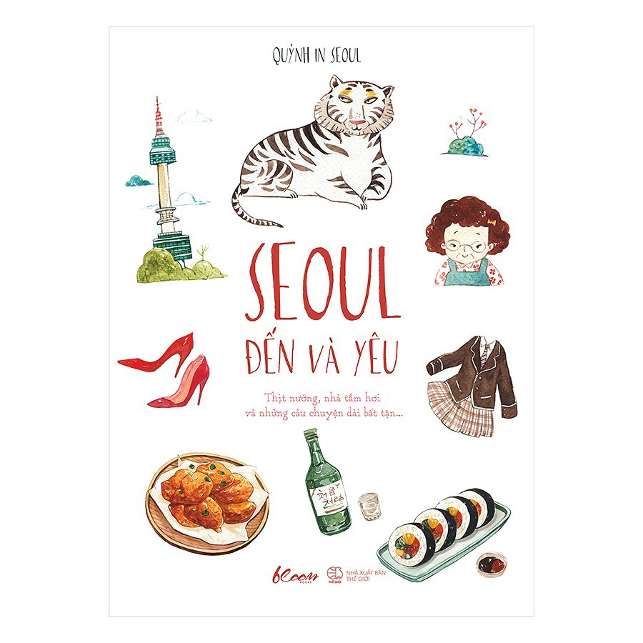 Sách - Seoul Đến Và Yêu