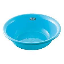 Chậu rửa mặt 4,5L màu xanh Hàng Nhật Nội Địa
