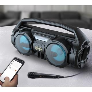 Loa Bluetooth KIMISO KM-S1 - Tặng kèm Mic hát Karaoke