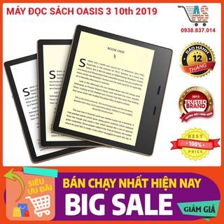 Máy đọc sách Kindle Oasis 3 10th 2019, hàng chính hãng Amazon