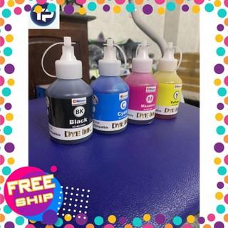 [FREESHIP TOÀN QUỐC] Mực màu [RẺ VÔ ĐỊCH] Bộ 6 màu mực in Epson L800,L805,t60,1390,1340 [mực estar dye] 100ml