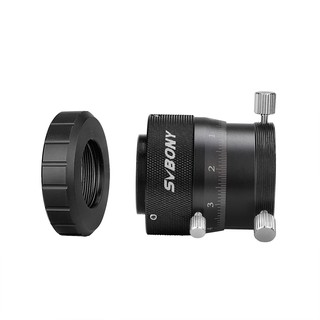 """SVBONY SV161 1.25"""" Double Helical Focuser for Astronomical Telescope w/ 2inch Adapter w/ Female SCT Adapter"""