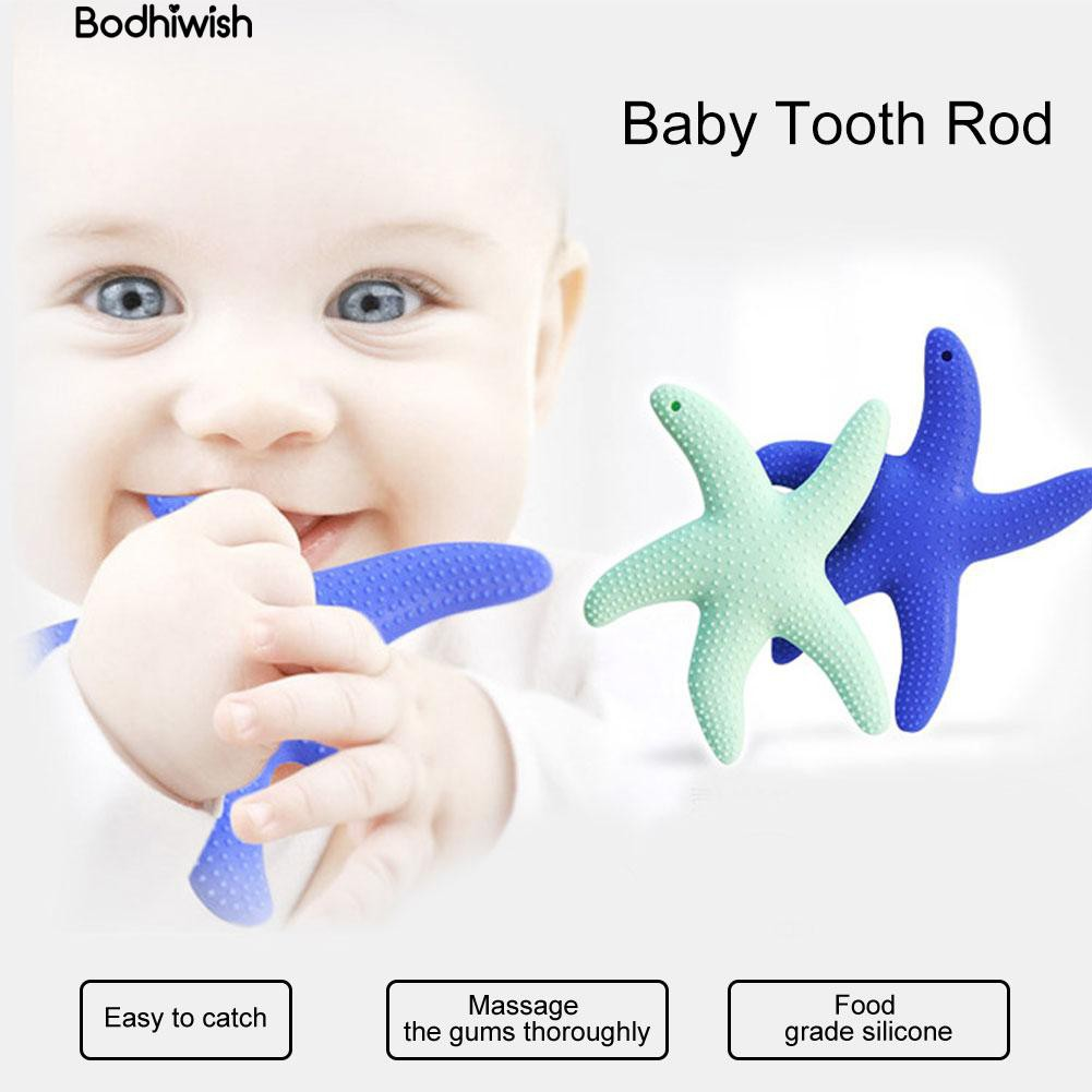 Starfish Soothing Teether Baby Tooth Chew Teething Toy