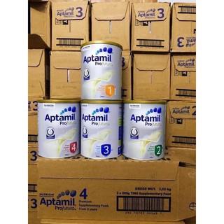 Sữa Aptamil nội địa Úc 900 soos1.2.3.4 date t10 2021