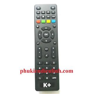 [Mã ELFLASH5 giảm 20K đơn 50K] ĐIỀU KHIỂN ĐẦU THU TV BOX K+(HÀNG CHÍNH HÃNG)