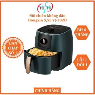[HÀNG CHÍNH HÃNG] Nồi chiên không dầu Hongxin 5,5L YJ-302D mới