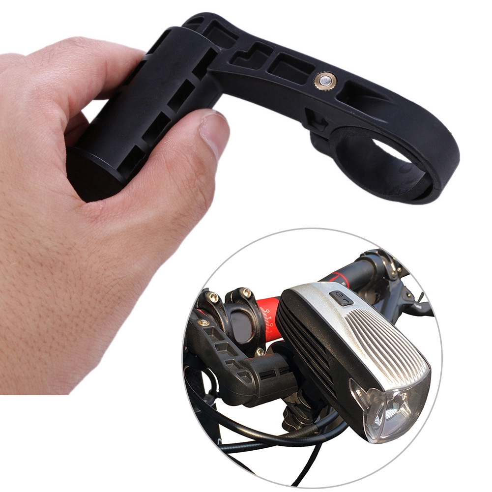 New Cycling LED Flashlight  Extender Bikes Computers Support Lamp Holder Bicycle Mounted