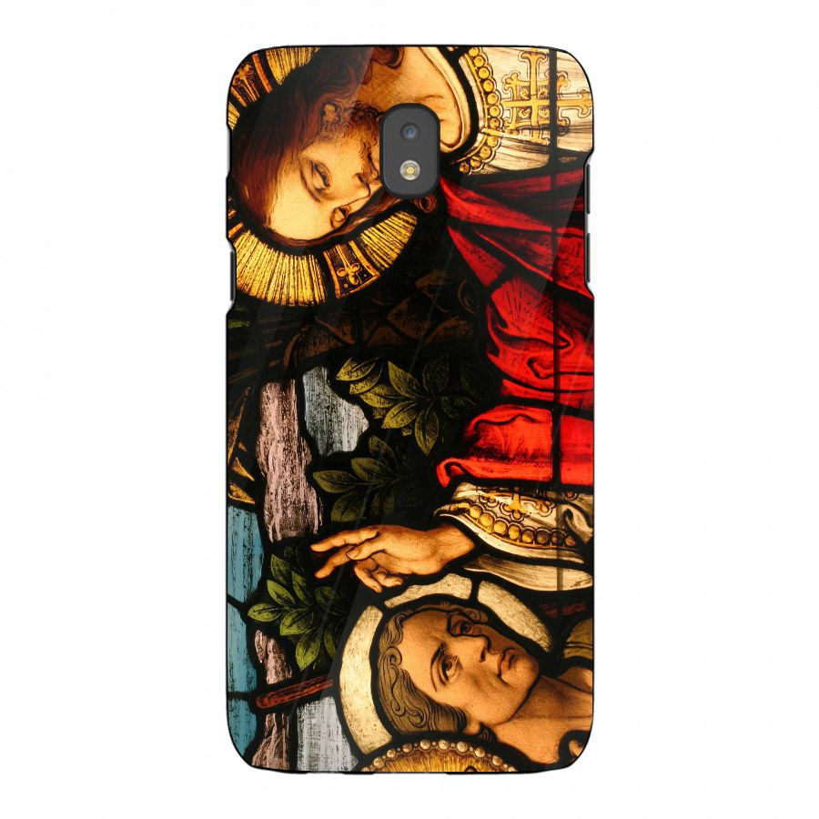 Ốp kính cường lực cho điện thoại Samsung Galaxy J5 Pro - tôn giáo MS TONGIAO045