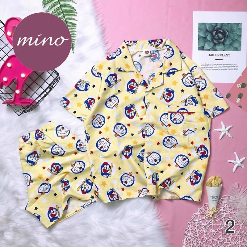 Đồ Mặc Nhà, Pijama, Đồ Bộ Đùi Kate Thái Freesize Siêu Dễ Thương, Vải Mịn, Mát