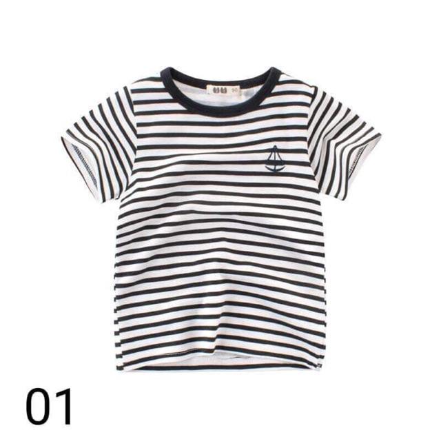 Set 4c áo cotton qc bé zai( hàng sẵn )