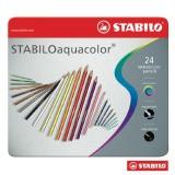 Hộp chì màu nước STABILO aquacolor CLW1624M (hộp thiếc)
