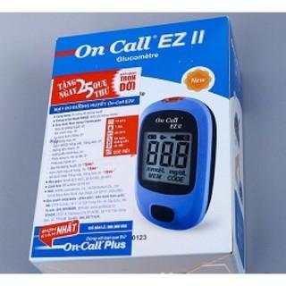 Máy đo đường huyết oncall ez không kèm que