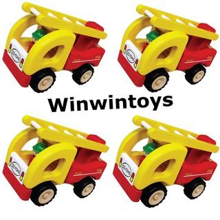 Đồ chơi gỗ Winwintoys - Xe thang cứu hỏa 62292