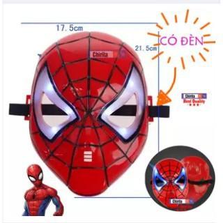 Mặt Nạ Người Nhện CÓ ĐÈN – Mặt Nạ Siêu Anh Hùng – Mặt nạ đồ chơi cho bé- Spiderman mask – Chirita WL7790 | Squishyvui