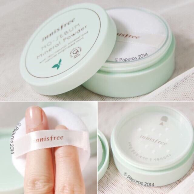 Follow 25/03 PHẤN PHỦ DẠNG BỘT INNISFREE NO SEBUM MINERAL POWDER