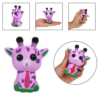 WX_Cute Cartoon Spotted Deer Squeeze Slow Rising Stress Reliever Children Kids Toy