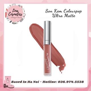Son kem lì Colourpop Ultra Matte Lips màu Flor Cam Cháy thumbnail