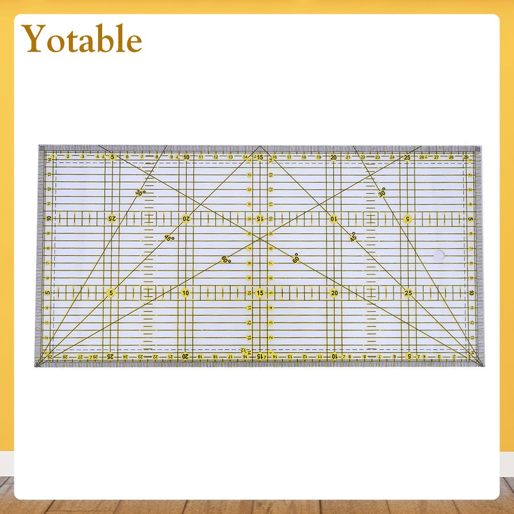 Clear Acrylic Quilt Ruler Patchwork Acrylic Sewing Rulers