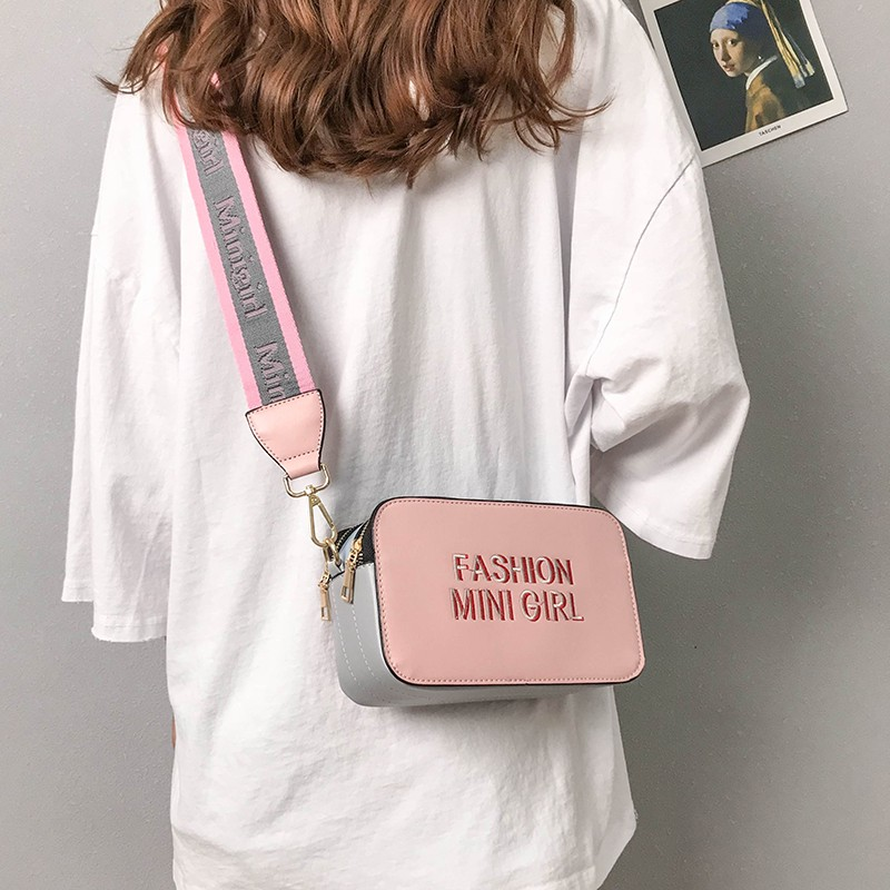 Summer small bag female 2018 new wave Korean version of the