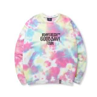 Áo Sweater Basic Tiedye 7 màu - TSUN thumbnail