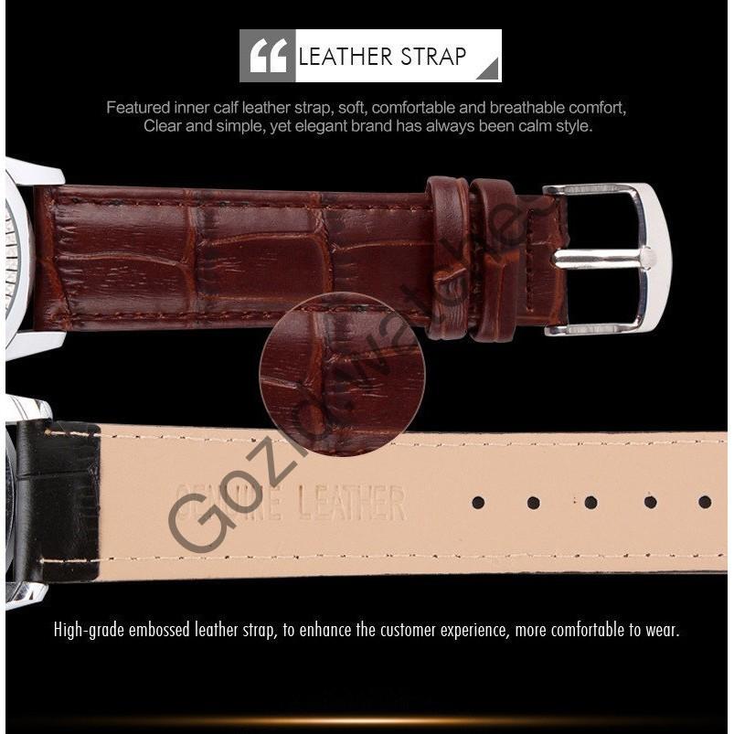 Đồng hồ nam thiết kế classic tinh tế cao cấp chống nước SKMEI SM21 -Gozid.watches