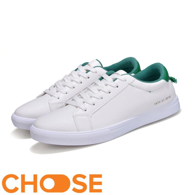 [Mã FASHIONT4MA2 giảm 10K đơn 50K] Giày Nam Giày Bata Choose Giá Rẻ Phong Cách Hàn Quốc Phối Màu Gót Mới Nhất GK61K