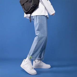 Quần jeans Baggy rộng , Quần jean trơn ống suông, rộng nam ,Q4 cam kết Giặt không phai màu – HÀNG CAO CẤP LOẠI 1