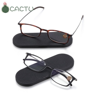 🌵CACTU🌵 Diopters +1.5, +2.0, +2.5 Portable Paper Type Ultra-thin Ultralight Reading Glasses