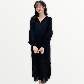 MEDYLA - Váy len sau sinh chất len siêu nhẹ cho mẹ bầu trước và sau khi sinh - VM007 thumbnail