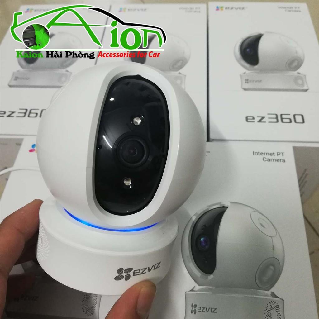 Camera an ninh không dây Hikvision Ezviz CS-CV246 - Quay HD  Cam IP Wifi Ezviz C6C - Giám sát thông minh xoay 360 độ