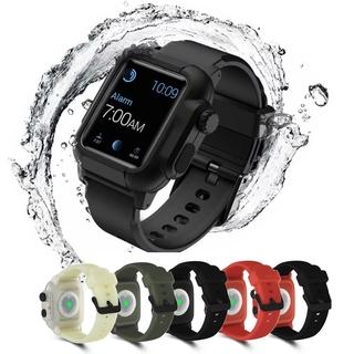 Dây Silicone Chống Sốc Cho Đồng Hồ Thông Minh Apple Watch Series 5 4 3 2 1 42mm 44mm