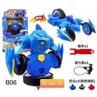 Võ thần giáp sĩ 06 – xanh dương