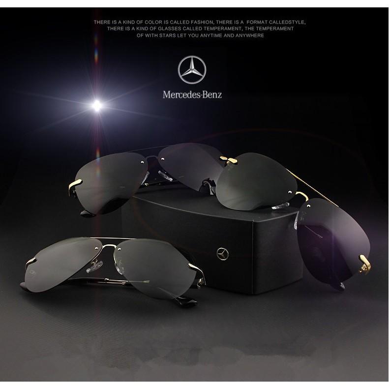 Kinh Mercedes Benz 737, Kính phân cực cao cấp, chống tia UV 400, giảm mỏi mắt, chống chịu bảo hành 1 năm