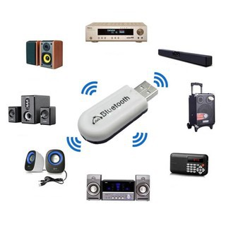 [Mã ELFLASH5 giảm 20K đơn 50K] [Giá Sốc] USB Bluetooth HJX-001 - Biến Dàn Loa Thường Thành Loa Bluetooth