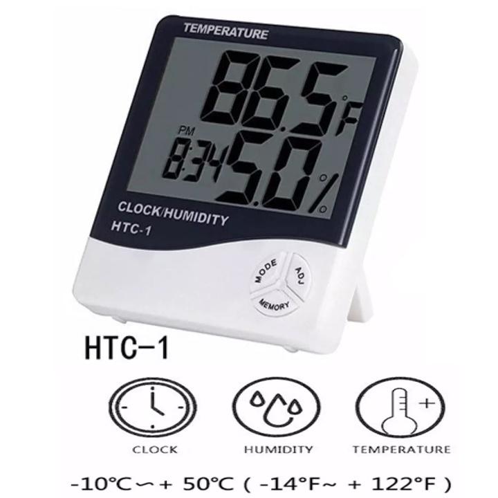 Đồng hồ đo nhiệt độ và độ ẩm HTC1