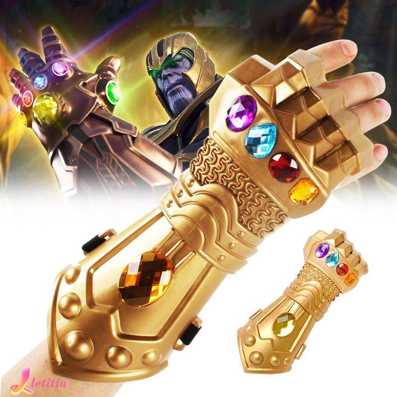New Thanos Infinity Gauntlet Glove Cosplay Infinity War The Avenge Prop Gift Letitia