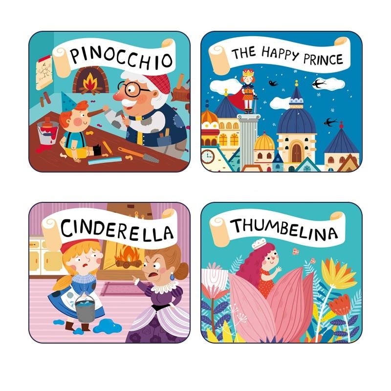 Máy chiếu phim mini cho bé KIDS STORYBOOK TORCH V2 (bốn câu chuyện cổ tích, của Mideer)