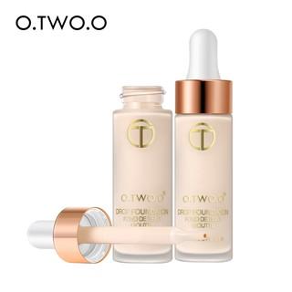 O.TWO.O Foundation Full Coverage Moisturizing Whitening Long Lasting 2 Colors 69g