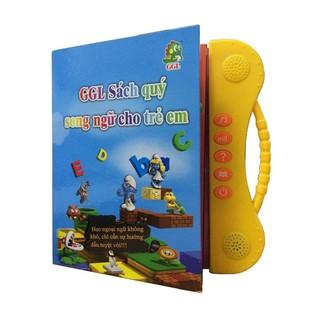 sách nói điện tử song ngữ cho bé