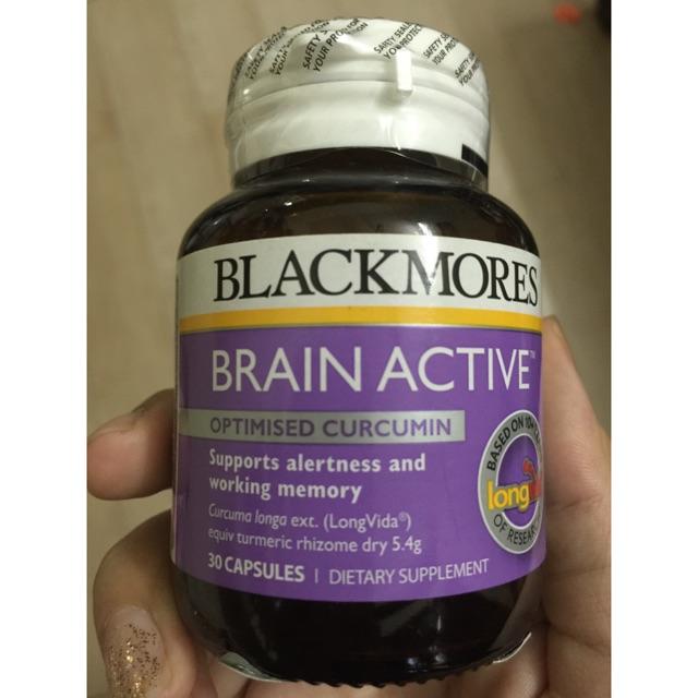 Blackmores Brain Active hỗ trợ sự tỉnh táo và tăng trí nhớ