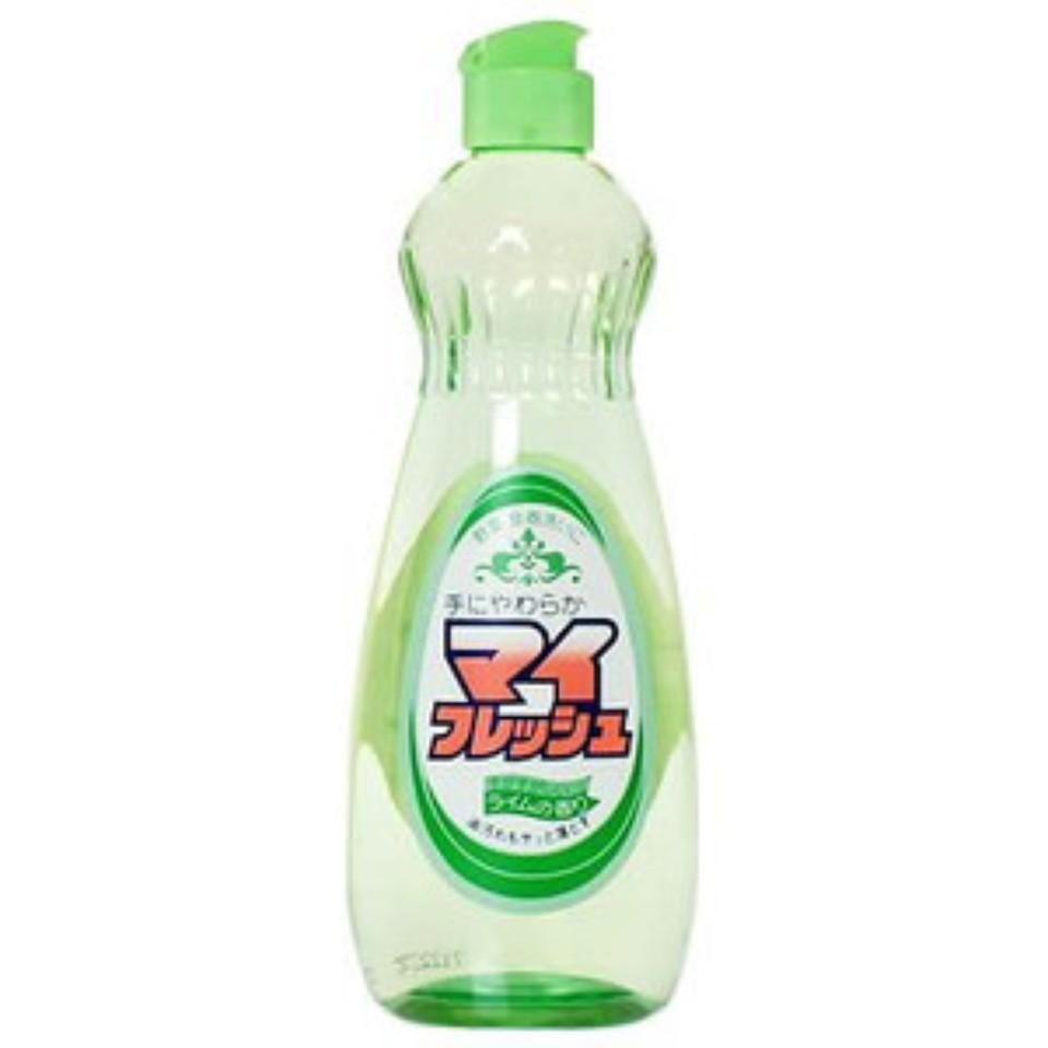 Chai nước rửa bát chén, rau củ My Fresh 600ml Hàng Nhật