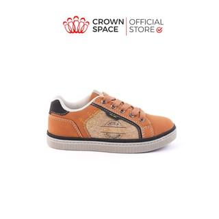 Giày Sneaker Bé Trai Bé Gái Đi Học Chính Hãng Crown UK London Street Trẻ em Cao Cấp CRUK213 Nhẹ Êm Size 28-37 2-16 Tuổi thumbnail