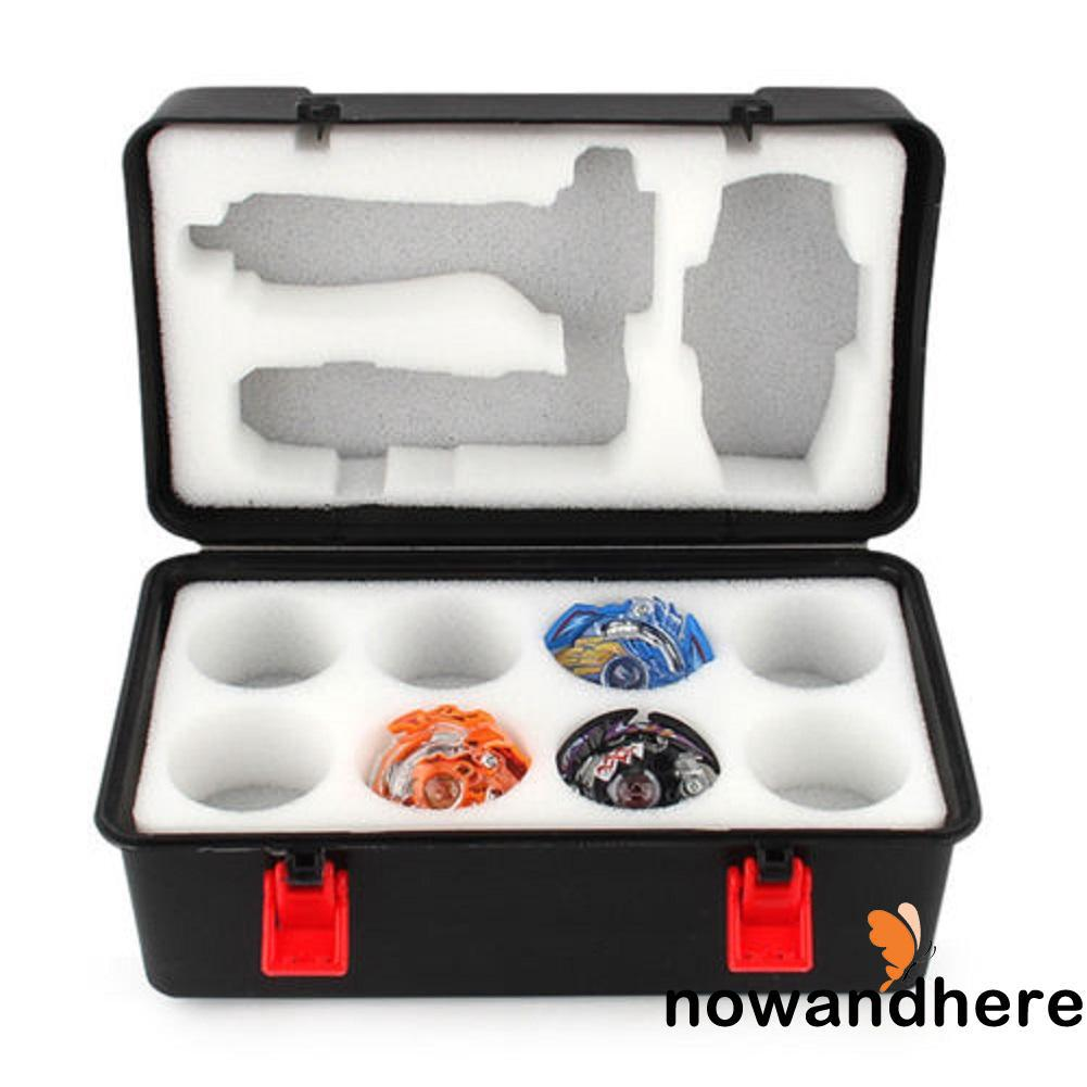 DDN-HOT Portable Beyblade Burst Gyro and Launcher Receiving Box with Foam Toys