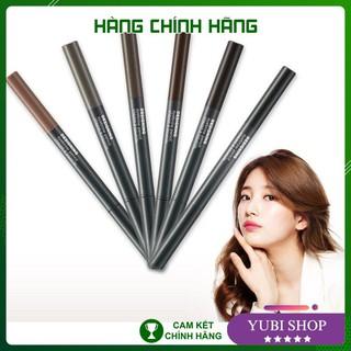 [HÀNG AUTH] CHÌ KẺ MÀY THE FACE SHOP – Chì Kẻ Mày 2 Đầu The Face Shop Designing Eyebrow Pencil