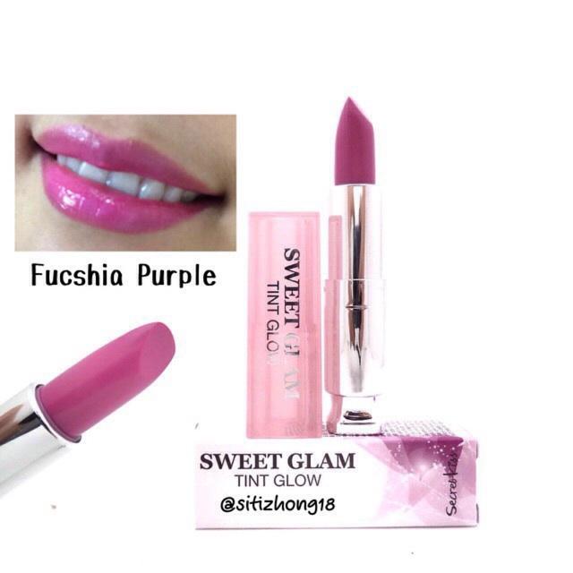 Son Secret Key Sweet Glam MÀU ✔ Hồng tím Fuchsia Purple